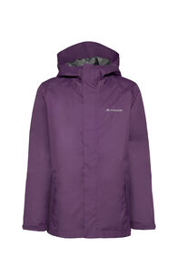 Macpac Jetstream Rain Jacket - Kids', Wineberry, hi-res