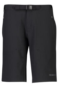Macpac Trekker Pertex Equilibrium® Softshell Shorts - Women's, Black, hi-res