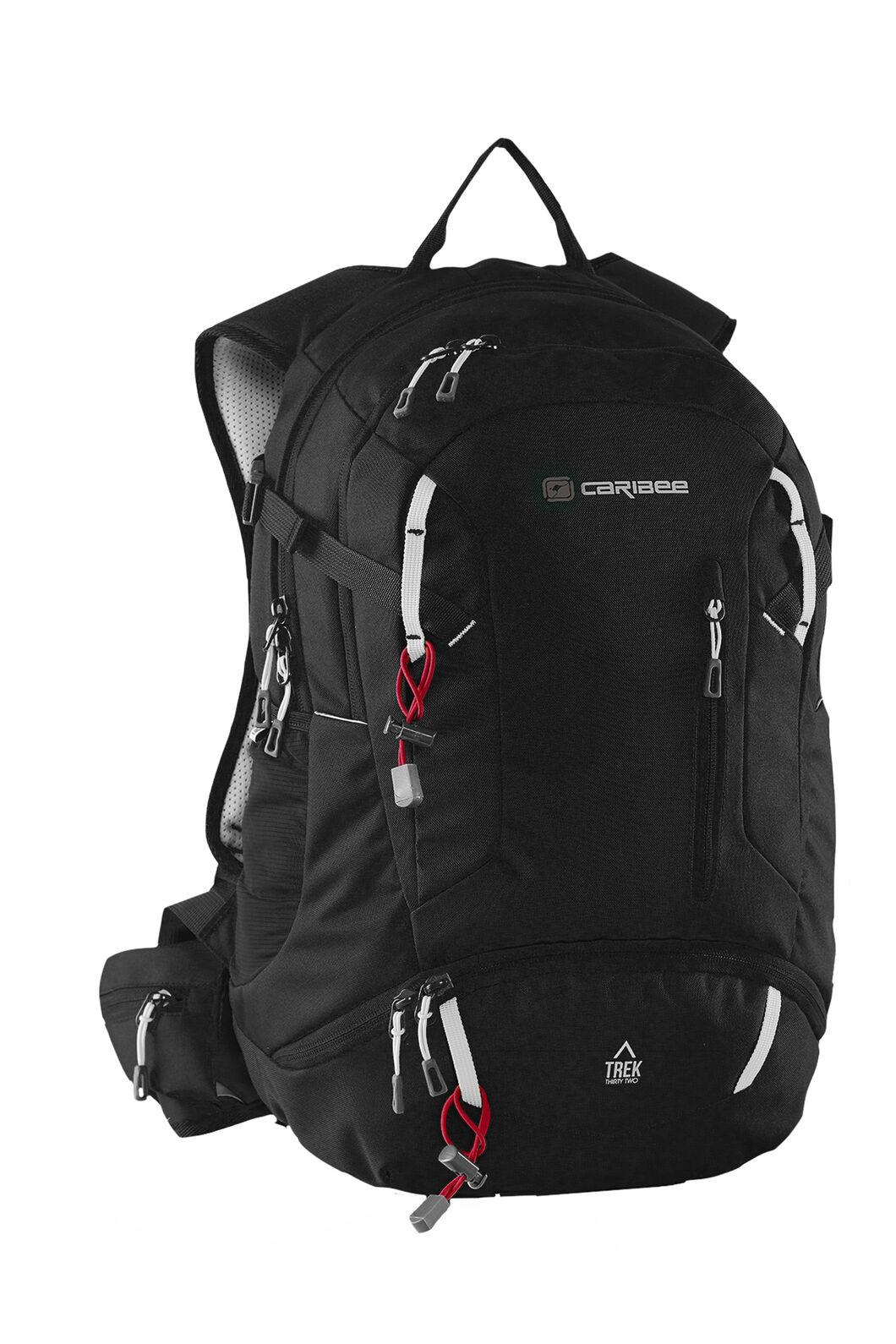Caribee Trek 32L Backpack, Black, hi-res