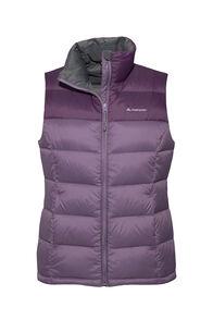 Macpac Halo Down Vest — Women's, Vintage Violet/Blackberry Wine, hi-res