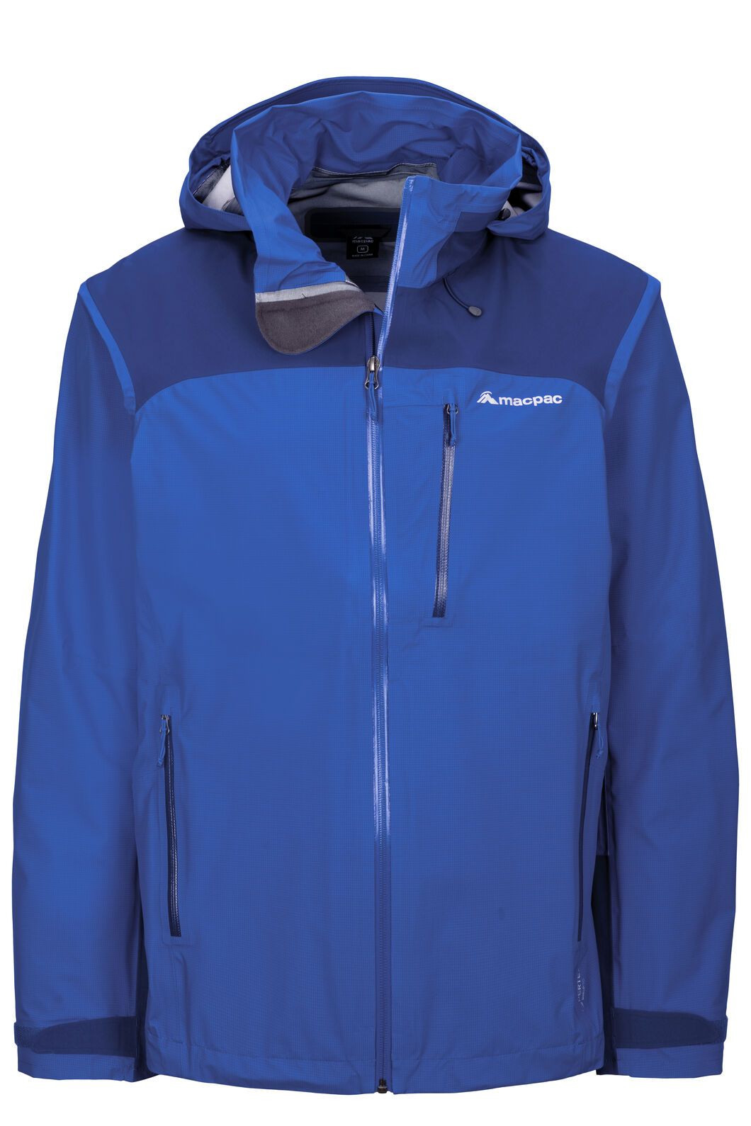 Macpac Men's Traverse Pertex® Rain Jacket, Surf The Web, hi-res