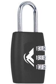 Macpac Combo Lock, Black, hi-res
