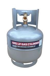 Code 2 POL Gas Bottle 4 kg, None, hi-res