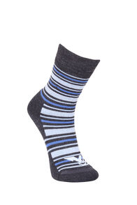 Macpac Footprint Socks Kids', Vista Blue/Bright Cobalt, hi-res