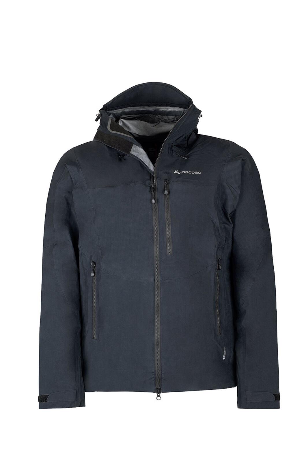 Macpac Lightweight Prophet Pertex® Rain Jacket - Men's, Black/Black, hi-res
