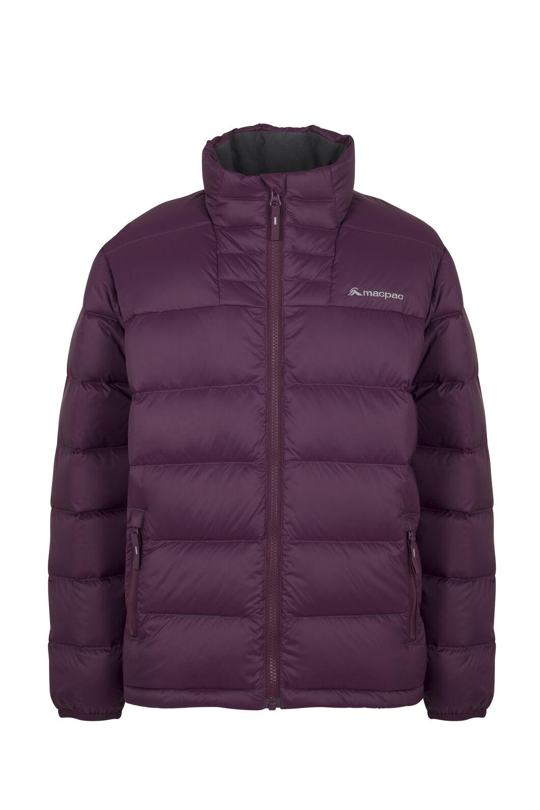 Macpac Atom Down Jacket - Kids', Potent Purple, hi-res