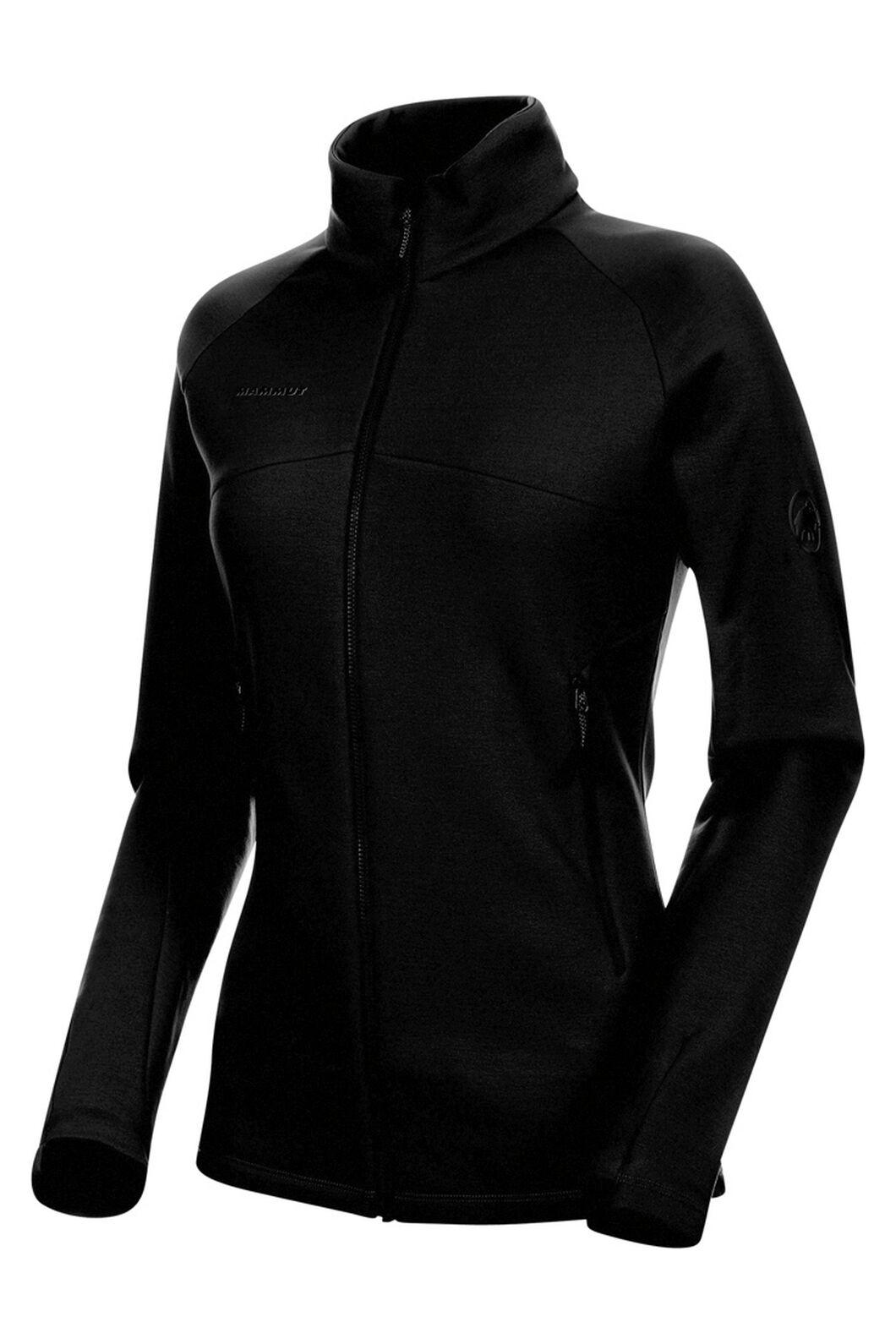 Mammut Aconcagua Mid Layer Jacket — Women's, Black, hi-res