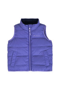 Macpac Atom Down Vest — Baby, Aster Purple, hi-res