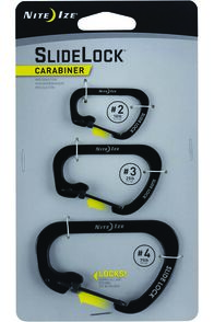 Nite Ize Stainless Steel Sidelock Carabiner 3 Pack, None, hi-res