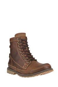 Timberland Earthkeepers® Original Leather 6-Inch Boots — Men's, MEDIUM BROWN NUBUCK, hi-res