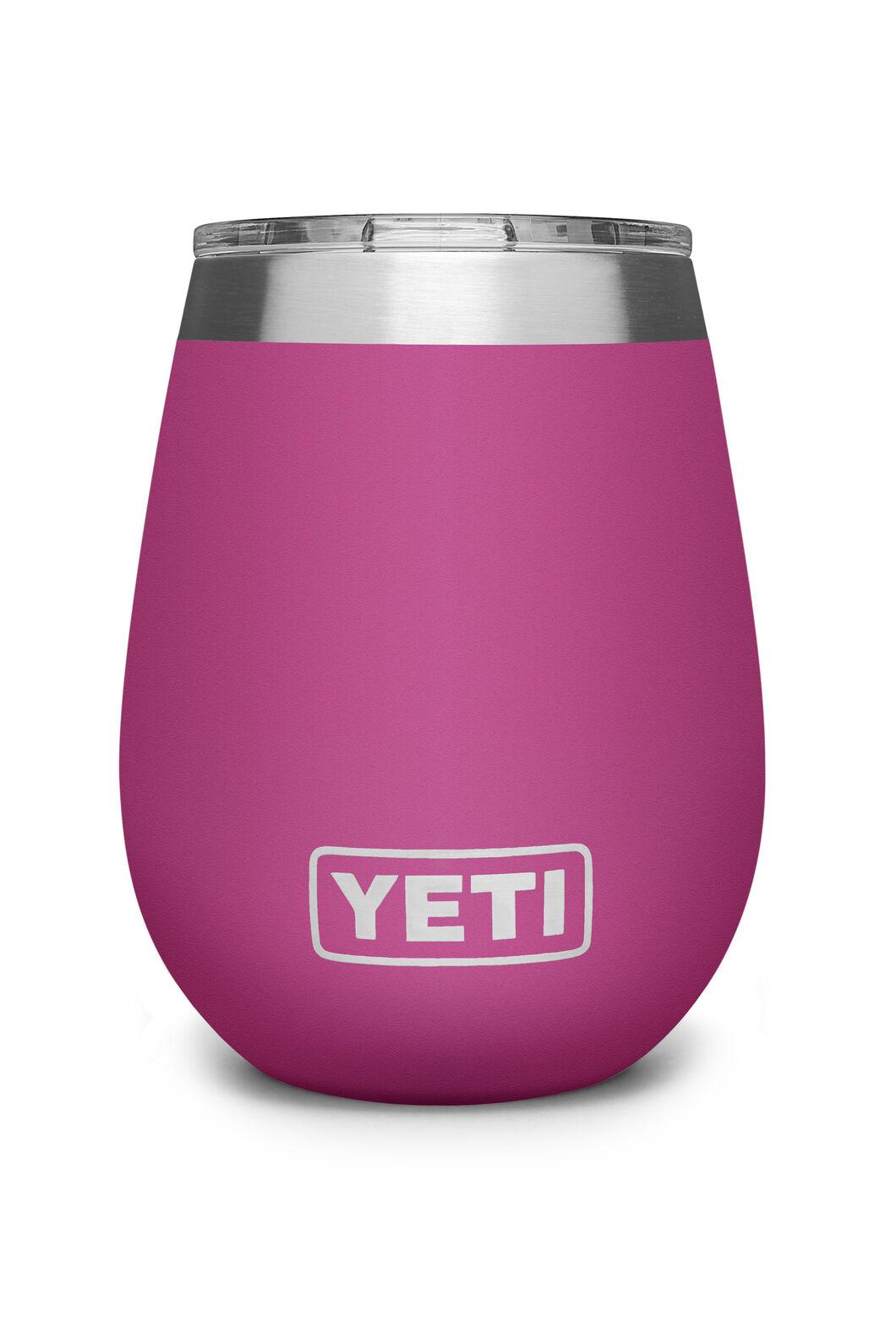 YETI® Rambler Wine Tumbler With MagSlider™ Lid — 10oz, Prickly Pear Pink, hi-res