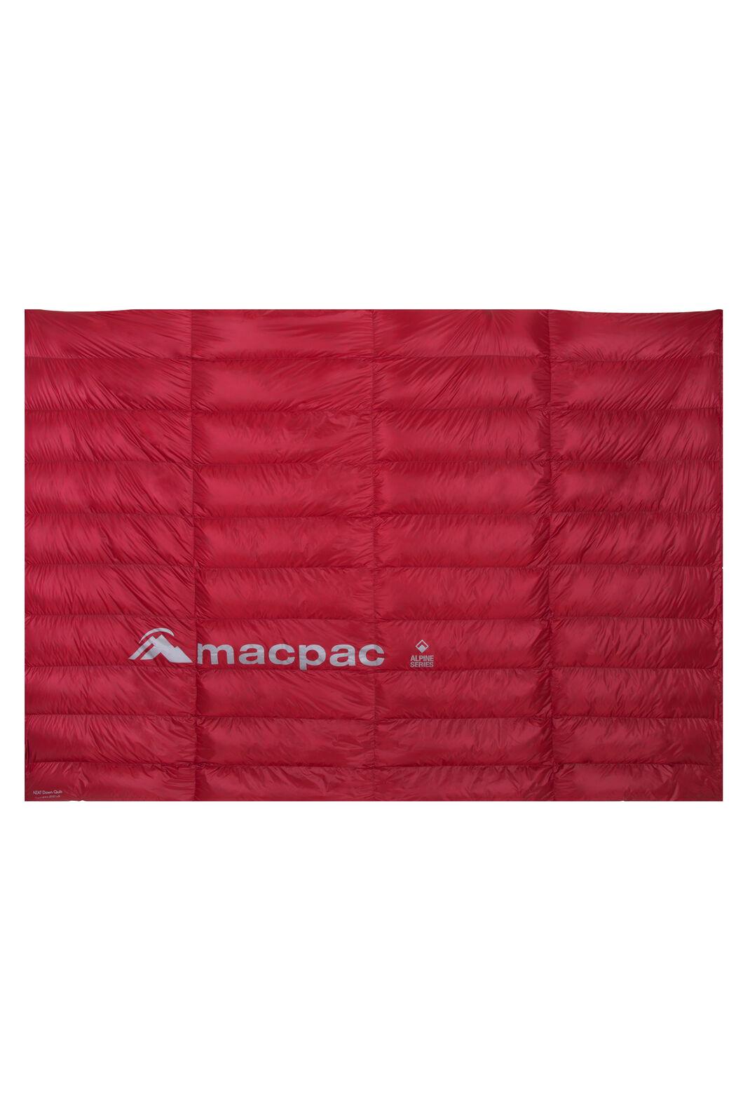 Macpac NZAT HyperDRY™ Down Quilt 350, Scarlet Sage, hi-res
