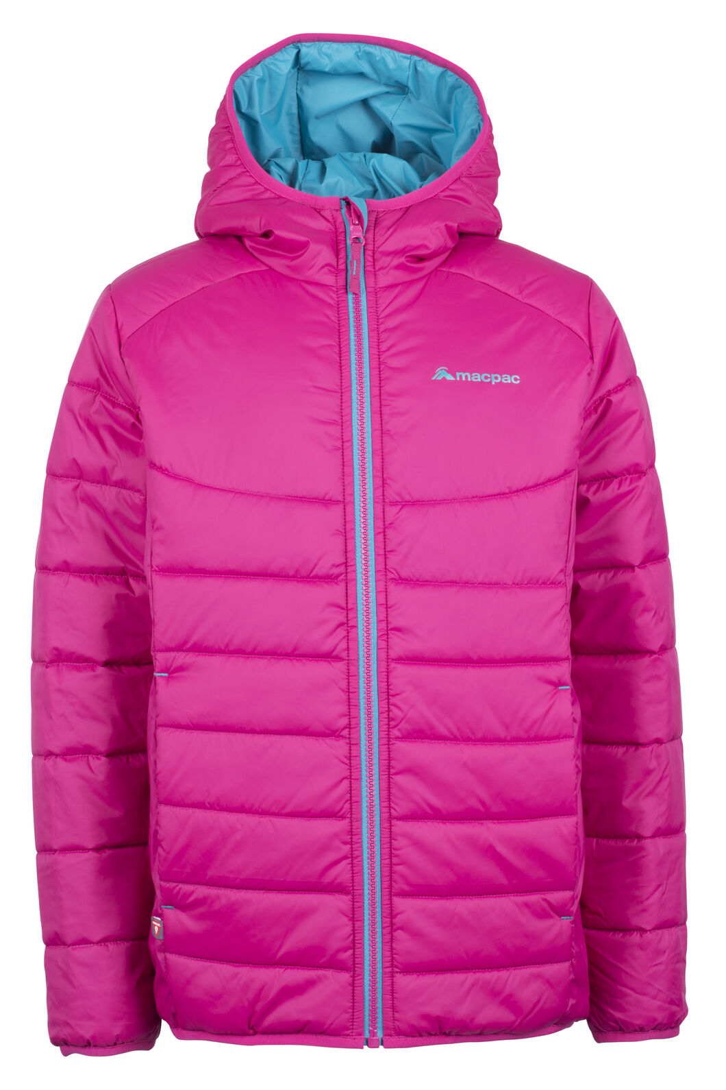 Pulsar Hooded Primaloft® SILVER Jacket - Kids', Sangria, hi-res