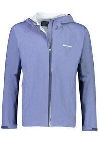 Macpac Less is less Rain Jacket - Men's, Medieval Blue, hi-res