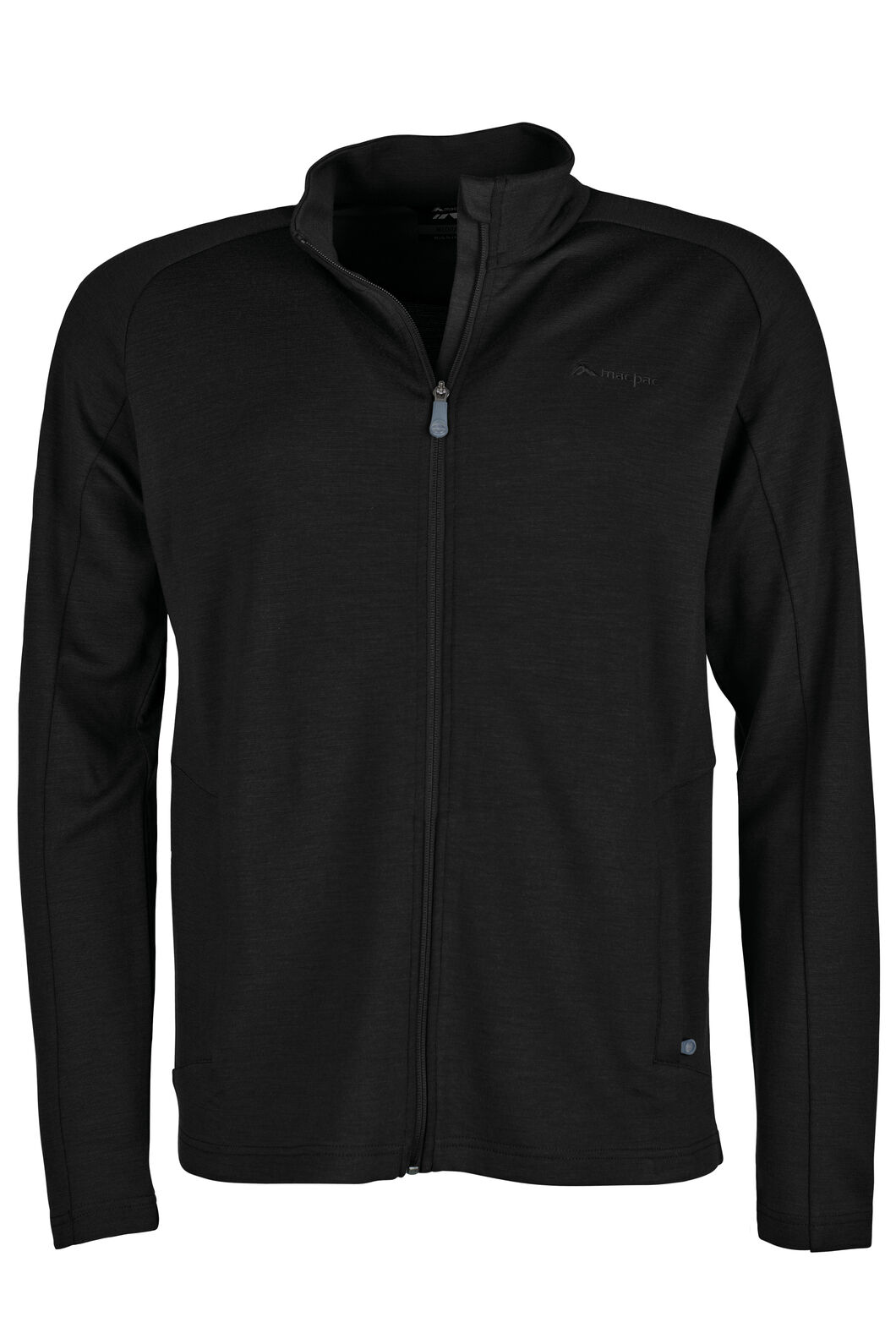 Macpac Brunner 390 Merino Jacket - Men's, Black, hi-res