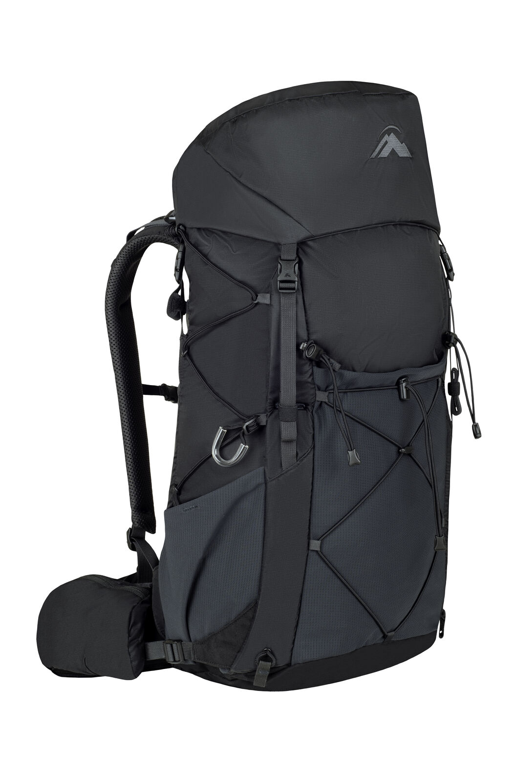 Macpac Fiord 1.1 40L Hiking Pack, Black/Black, hi-res