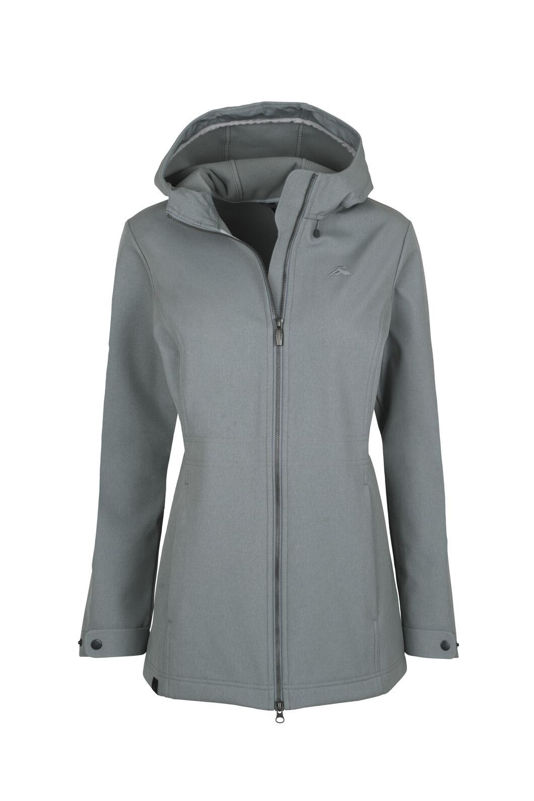 Macpac Chord Softshell Jacket - Women's, Monument, hi-res