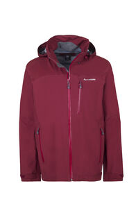 Macpac Traverse Pertex® Rain Jacket - Men's, Syrah, hi-res