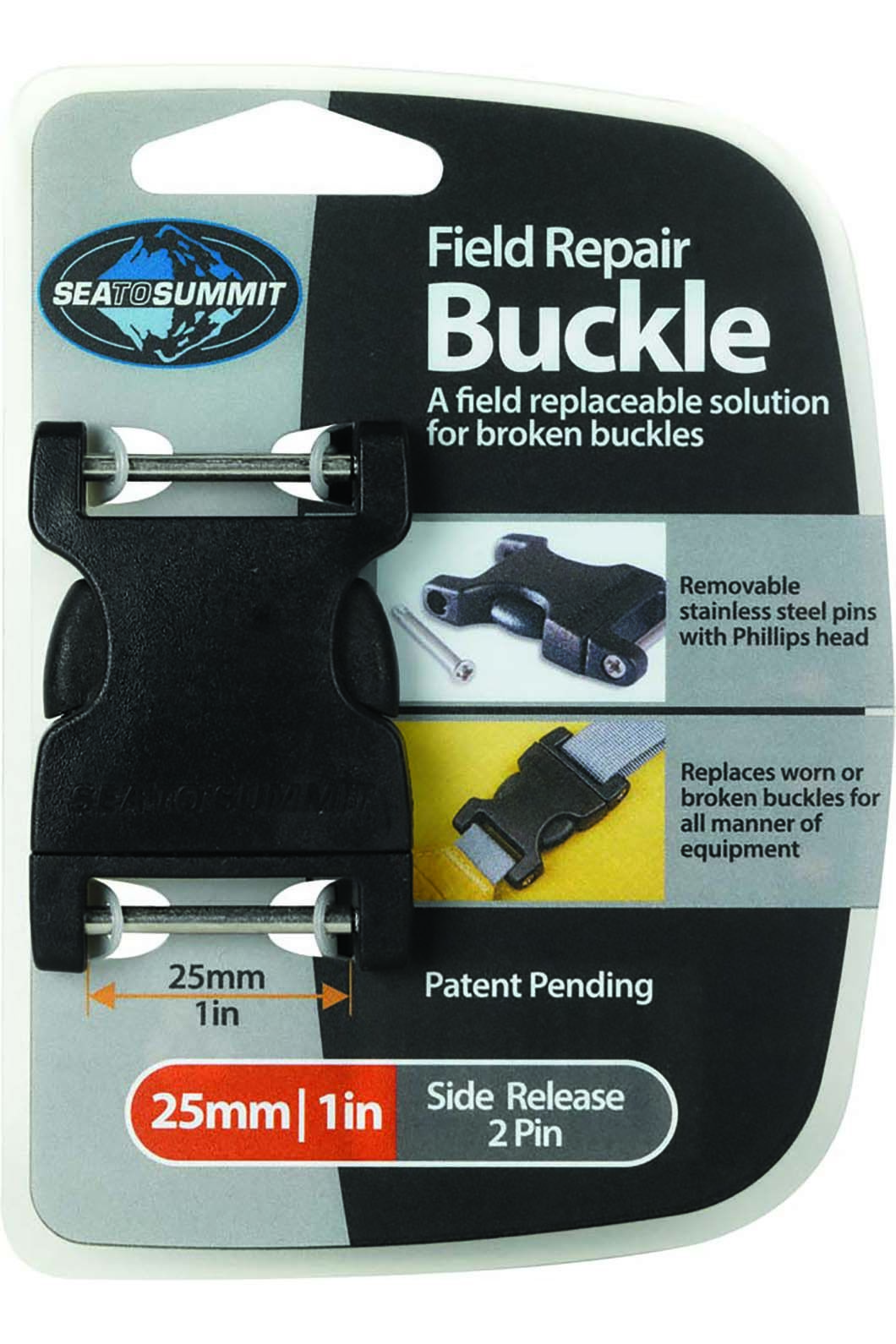 Sea to Summit Field Repair Buckle 25mm Side Release 2 Pin, None, hi-res