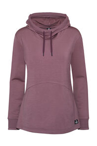 Macpac Fife 280 Merino Hooded Pullover — Women's, Rose Brown, hi-res
