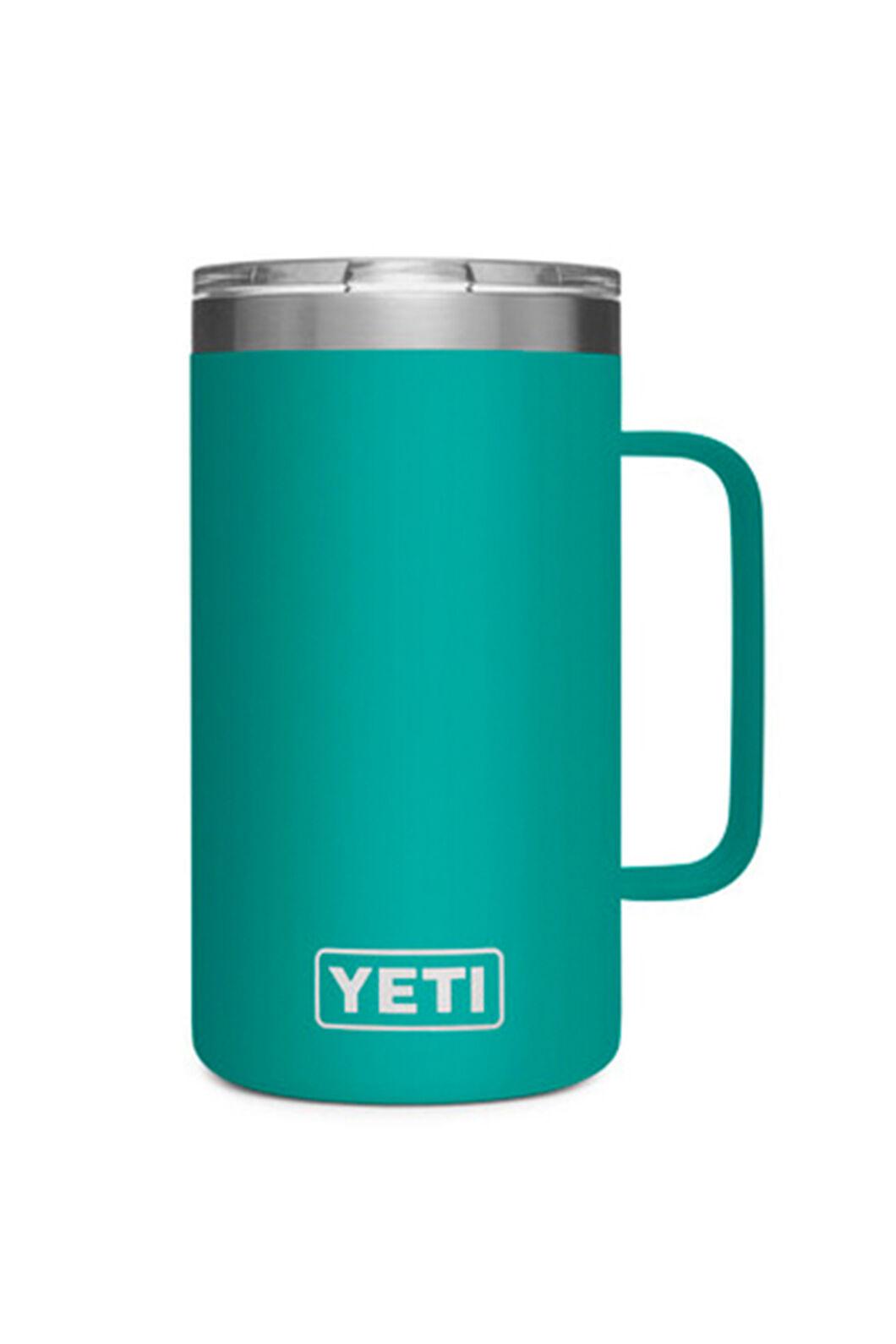YETI® Rambler Mug — 24oz, Aquifer Blue, hi-res