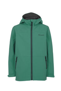 Macpac Sabre Hooded Jacket - Kids', Storm, hi-res