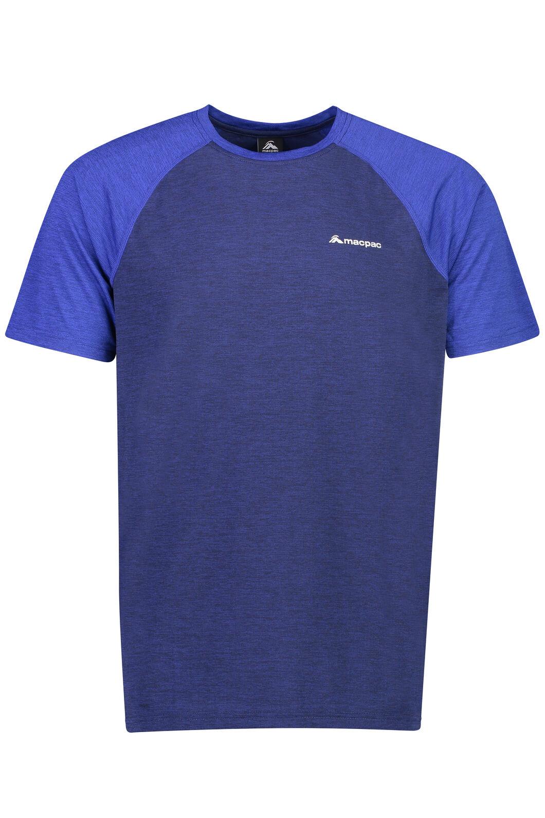 Take a Hike Short Sleeve Top - Men's, Medieval Blue, hi-res