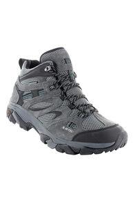 Hi-Tec Men's Ravus Vent Lite Mid WP Hiking Shoes, Charcoal/Cool Grey, hi-res