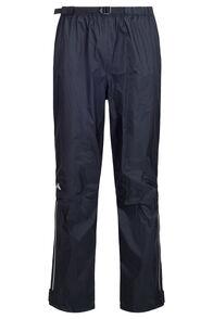 Macpac Men's Jetstream Reflex™ Rain Pants, Black, hi-res