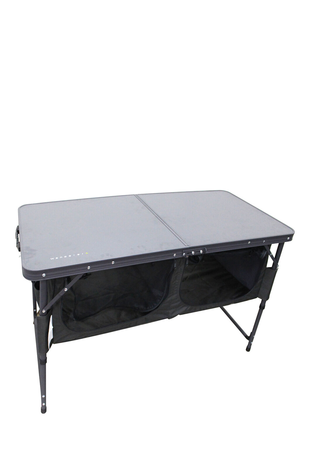 Wanderer Folding Table with Storage, None, hi-res