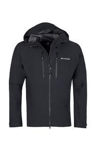 Macpac Fitzroy Alpine Series Softshell Jacket - Men's, Black, hi-res