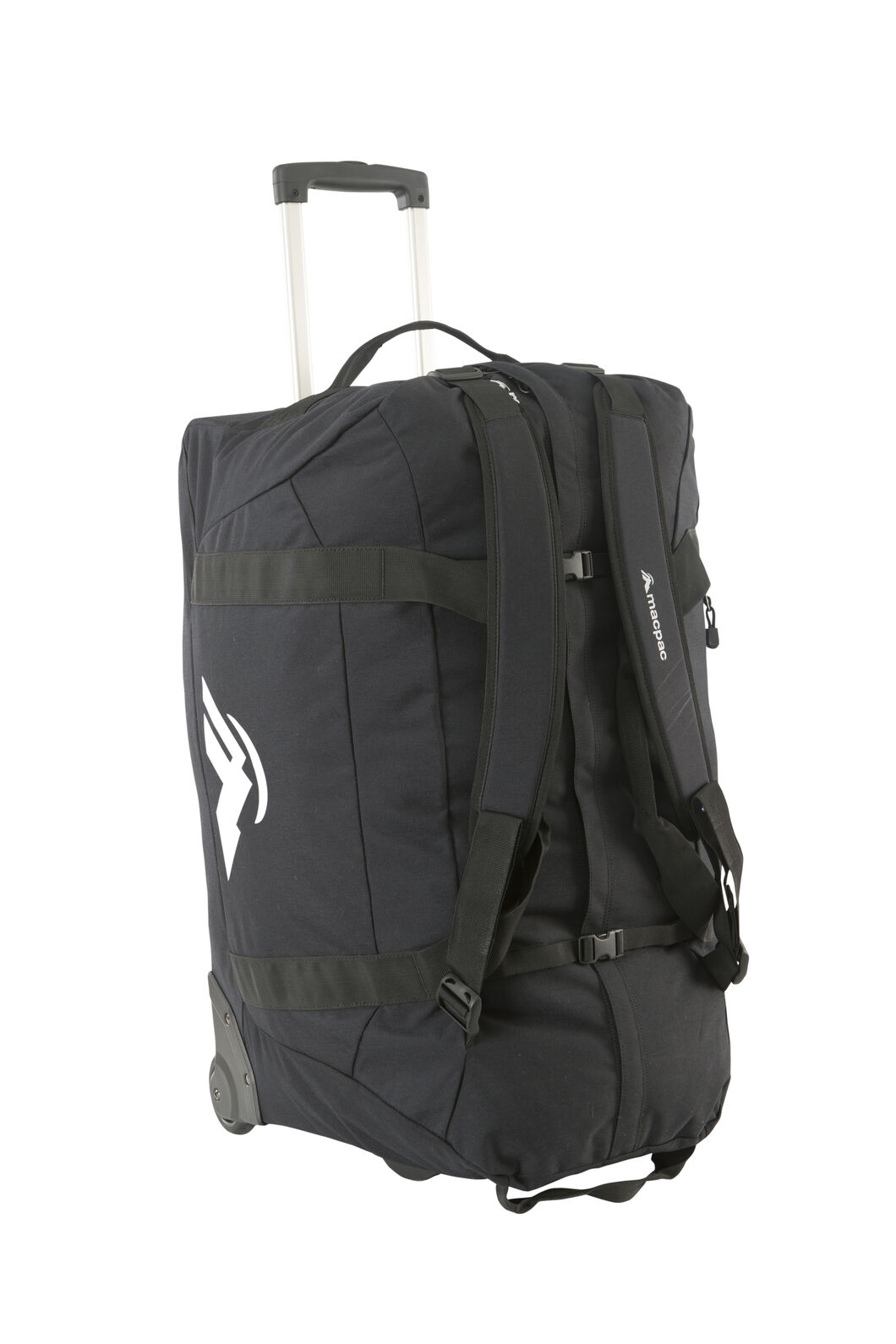 Wheeled Duffel Bag 120L, Black, hi-res