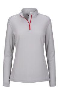 Macpac Women's Prothermal Polartec® Long Sleeve Top, Dawn Blue, hi-res