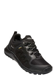 KEEN Explore WP Hiking Shoes — Women's, Black/Star White, hi-res