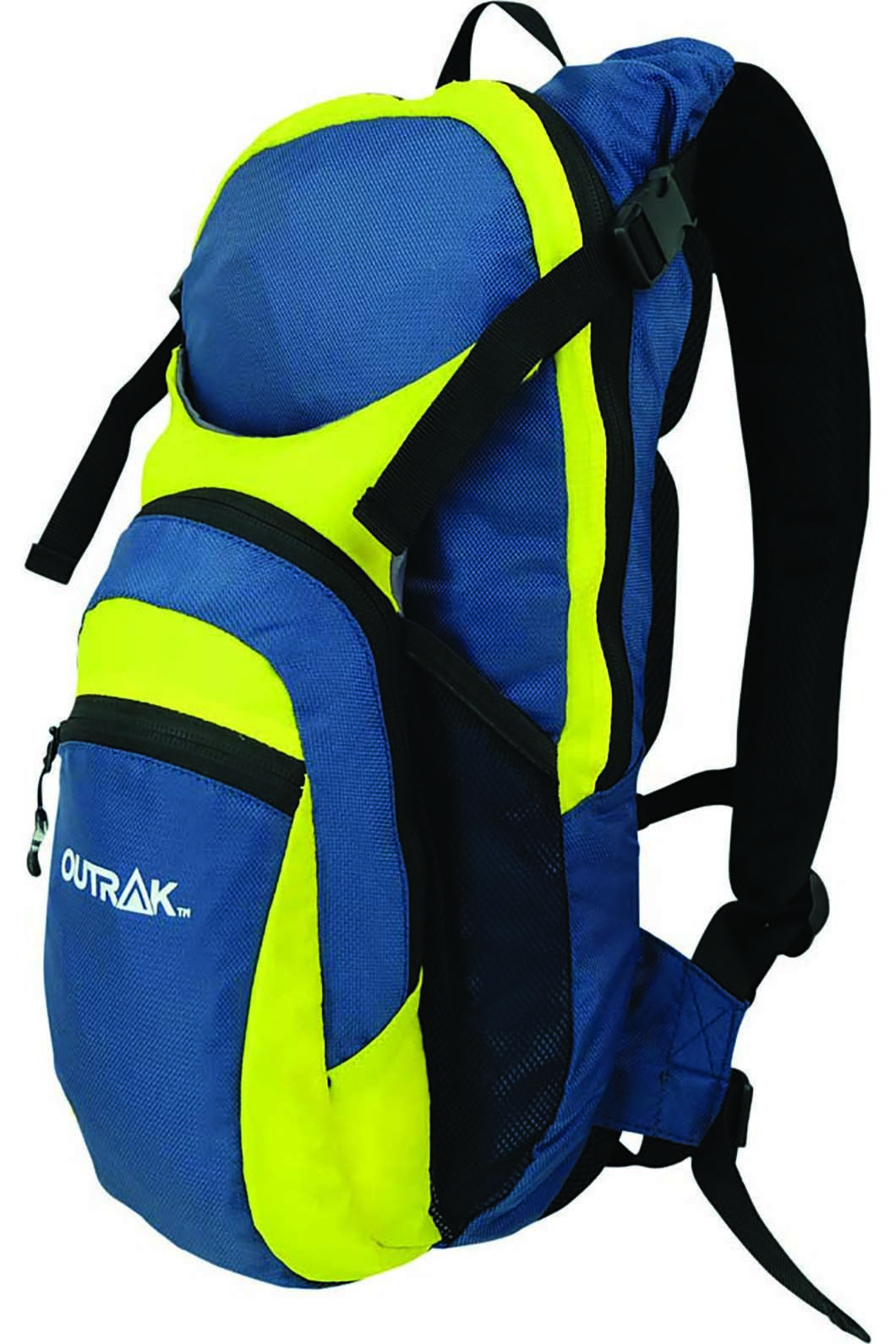 Outrak Vapor Hydration Pack 3LL, NAVY/YELLOW, hi-res