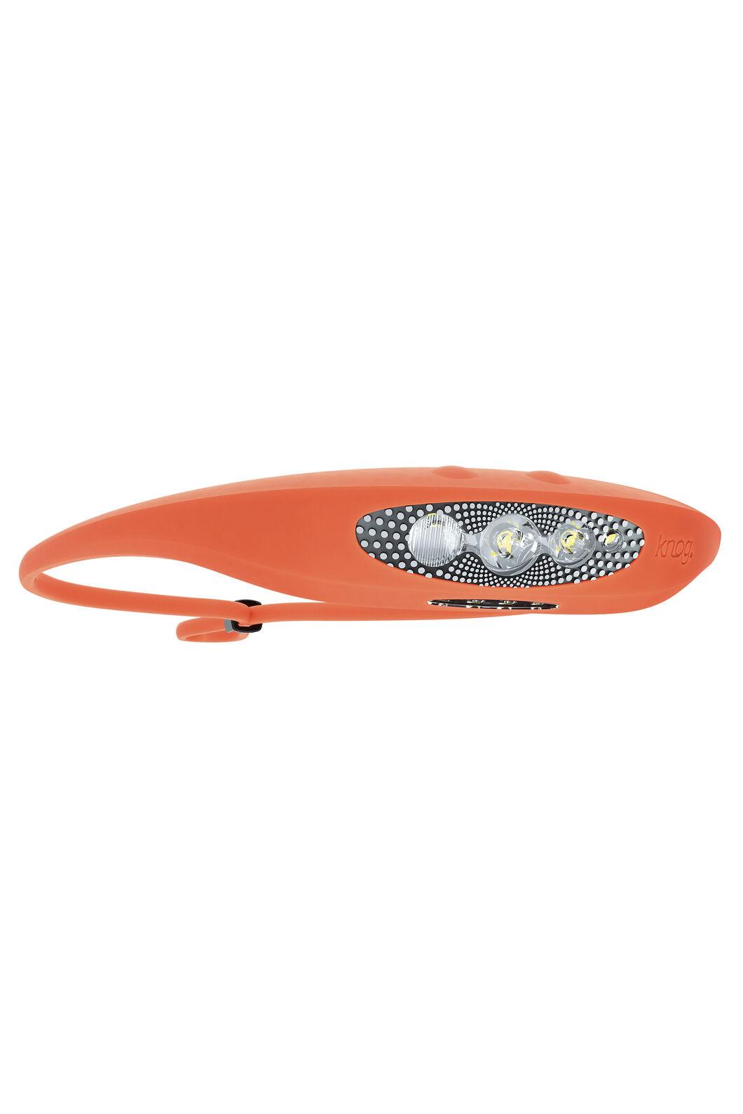 Knog Bilby Rechargeable Headlamp — 400 Lumens, Fluoro Orange, hi-res