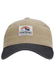 Macpac Vintage Cap, Khaki/Charcoal, hi-res