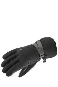 Salomon Propeller Long Gloves — Women's, Black/Galet Grey, hi-res