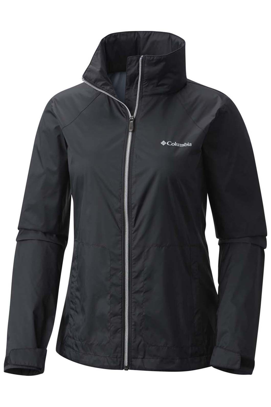 Columbia Switchback III Rain Jacket - Women's, Black, hi-res