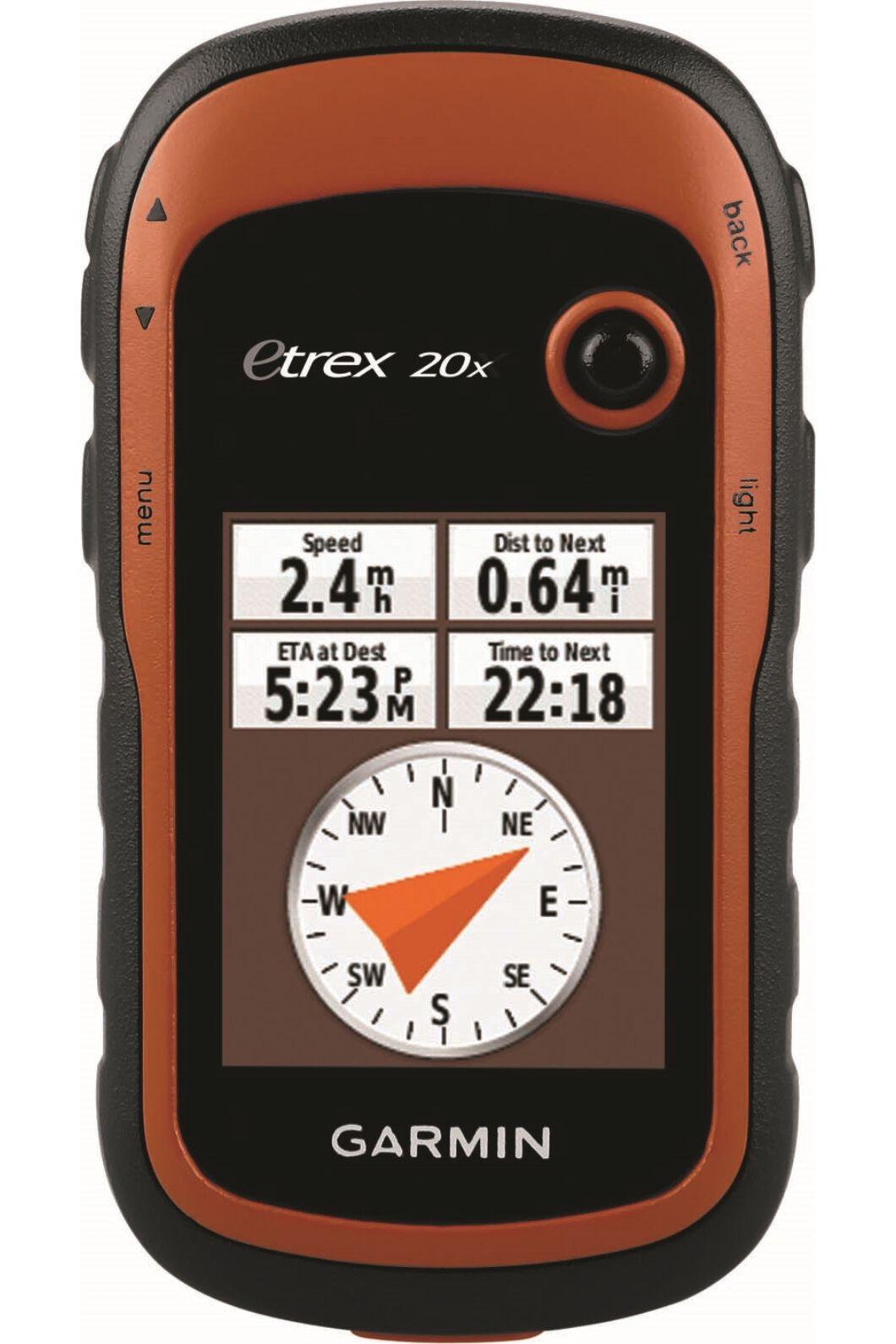 Garmin eTrex 20X Handheld GPS, None, hi-res