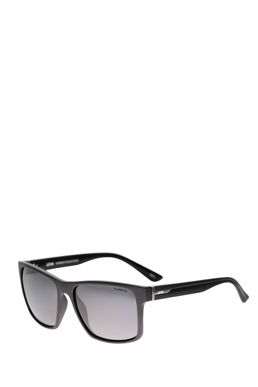 Liive Vision Kerrbox Polarised Sunglasses, Twin Blacks, hi-res