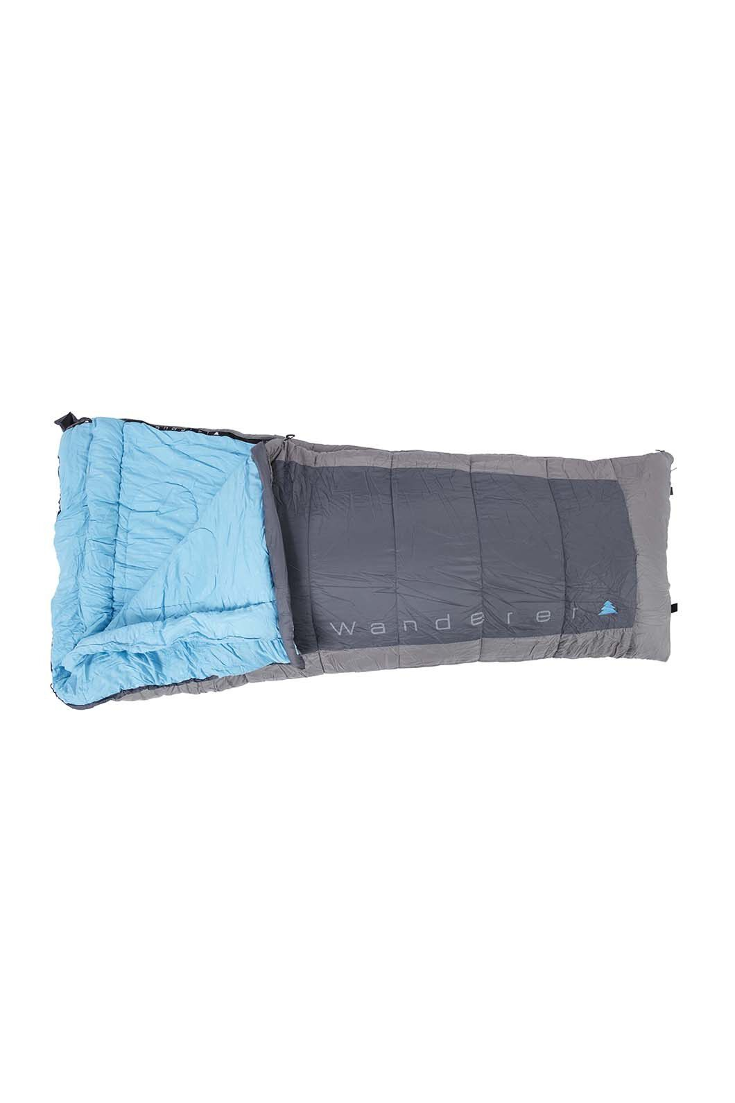 Wanderer SureFlame Camper Sleeping Bag, None, hi-res