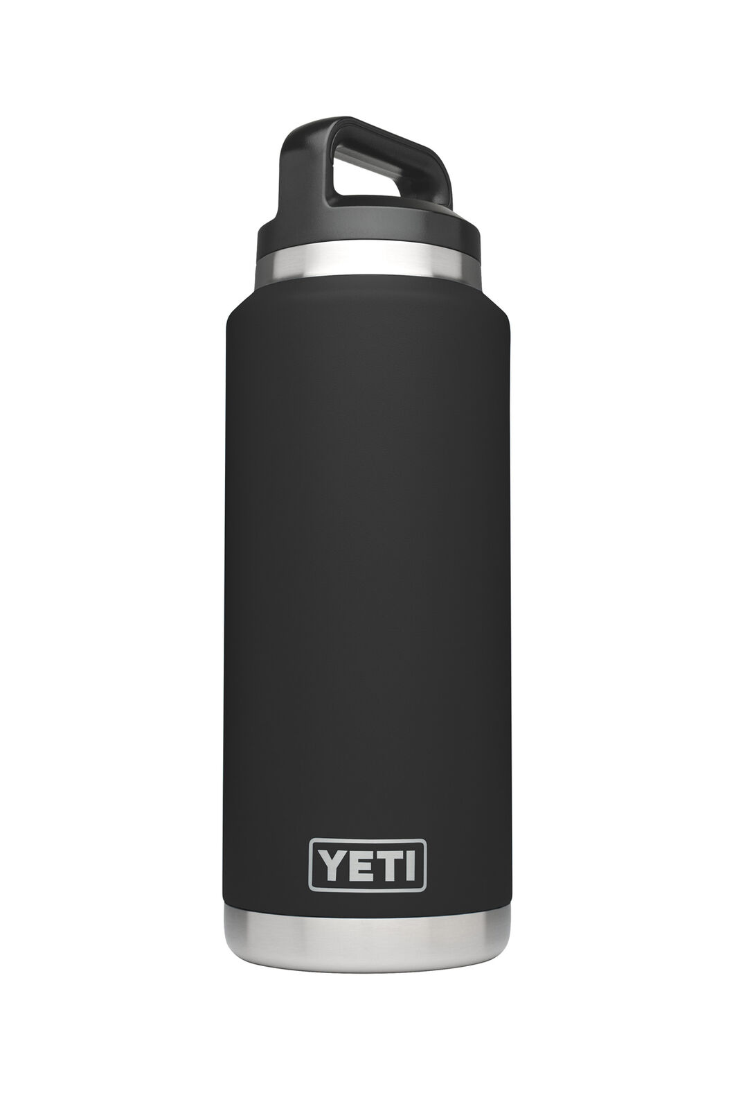 Yeti Rambler Drink Bottle Stainless Steel 36oz, Black, hi-res