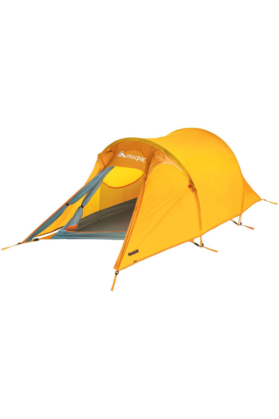 Macpac Minaret Tramping Tent, Spectra Yellow, hi-res