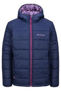 Macpac Pulsar Alpha PrimaLoft® Hooded Jacket — Kids', Amaranth, hi-res