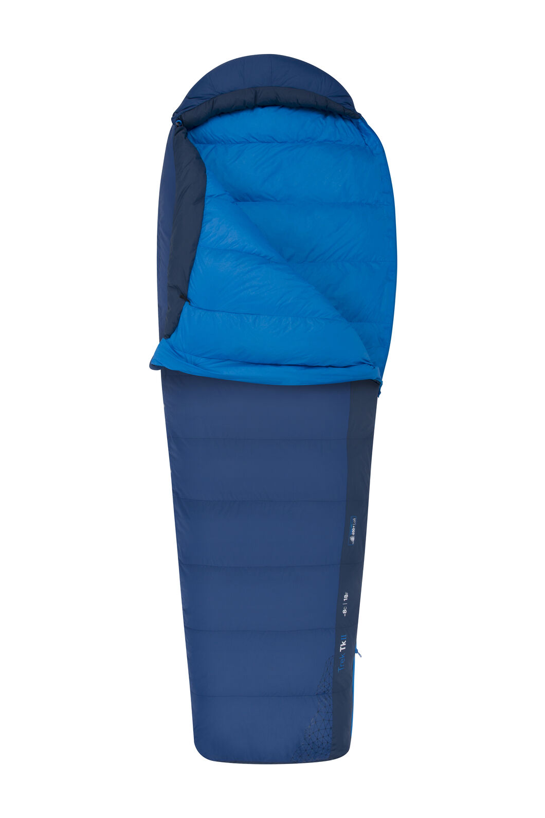 Sea to Summit Trek TKII Sleeping Bag - Regular, Blue, hi-res