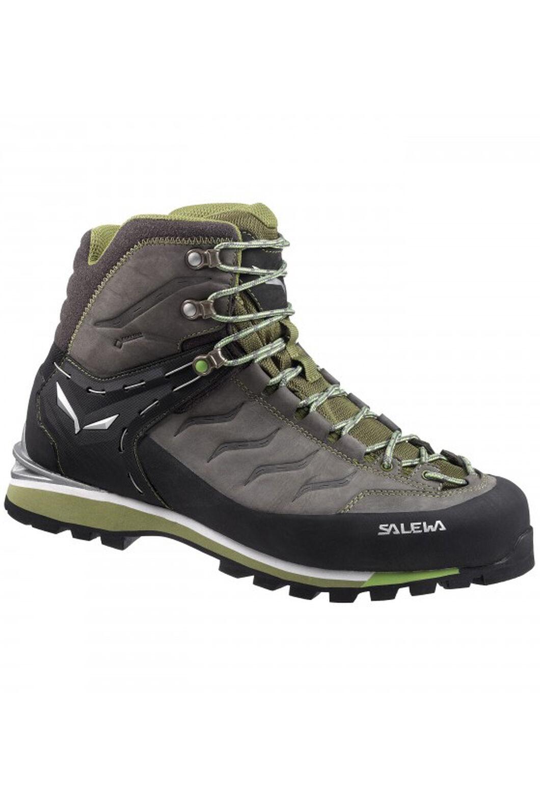 Salewa Rapace GTX Boots - Men's, Pewter/Emerald, hi-res