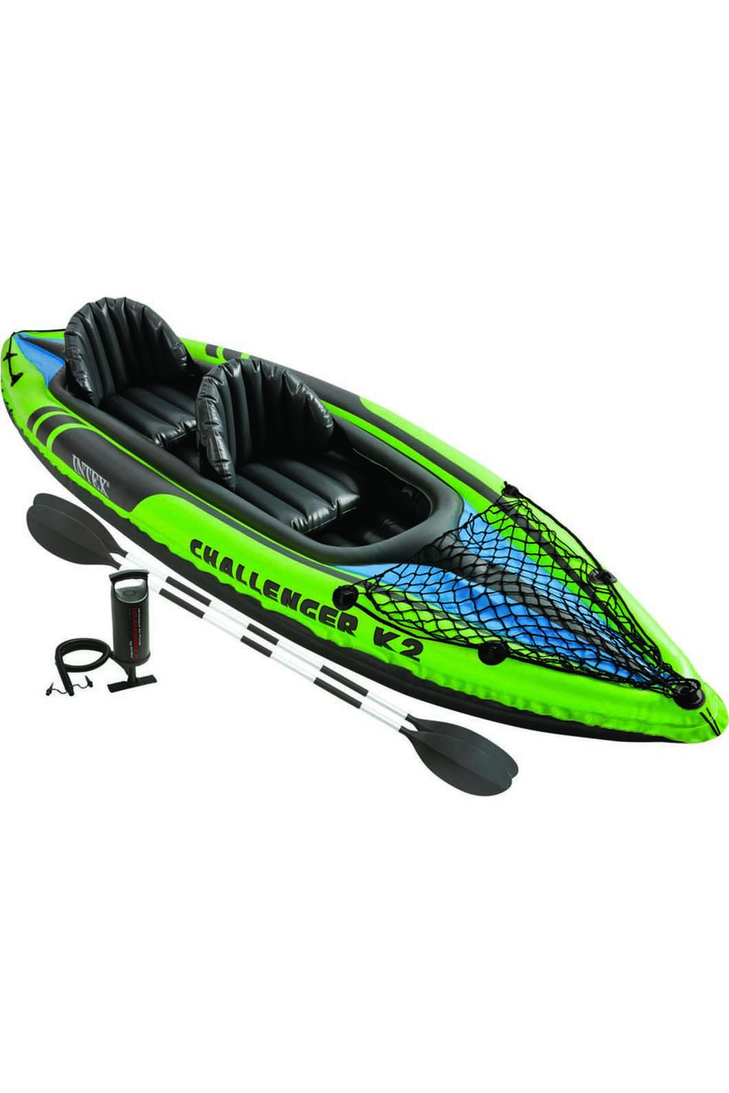 Intex Challenger Inflatable 2 Person Kayak, None, hi-res