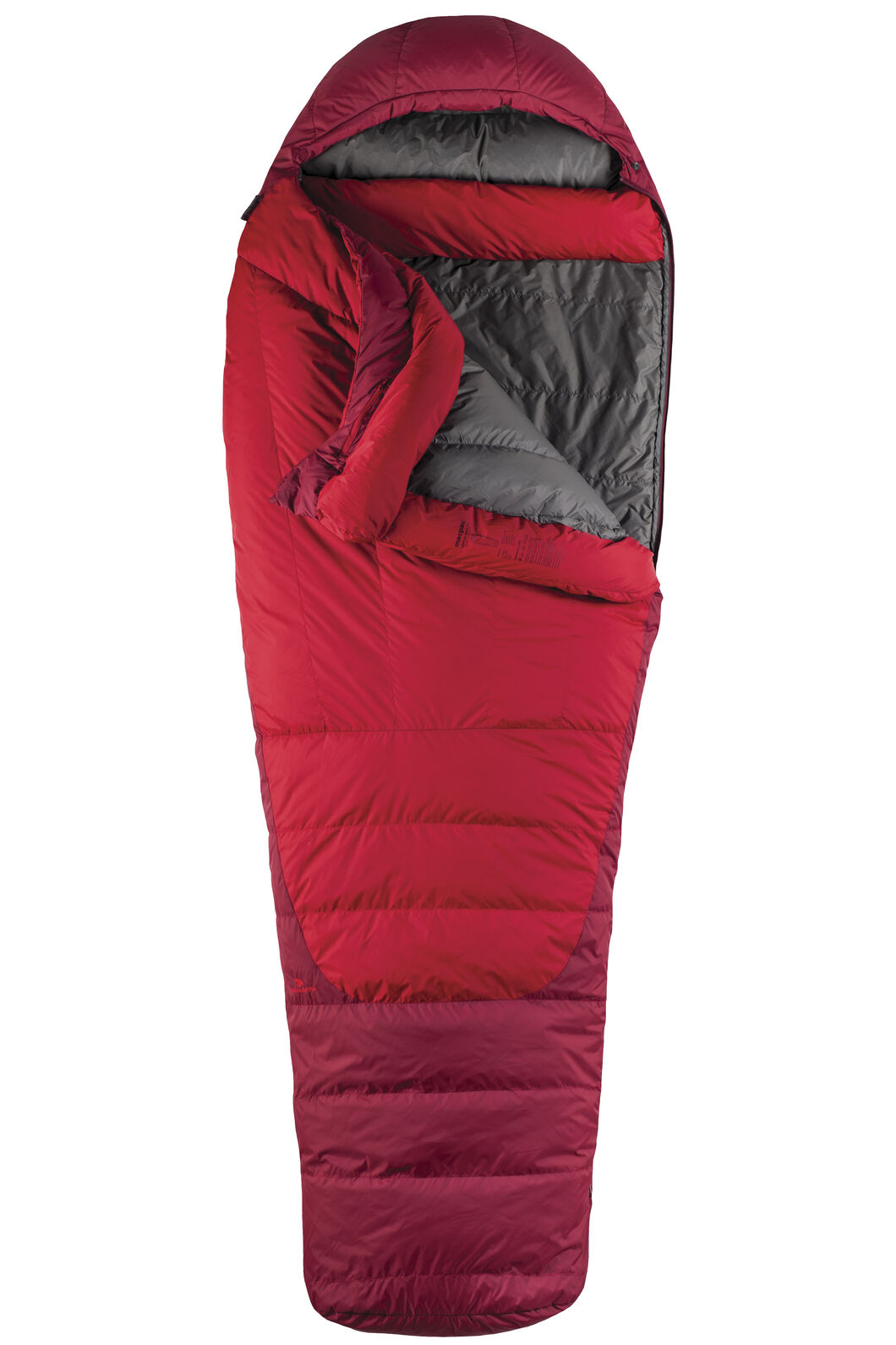 Macpac Latitude XP Goose Down 500 Sleeping Bag - Extra Large, Chilli, hi-res