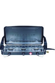 Wanderer 3 Burner LPG Portable Stove with Drip Tray, None, hi-res